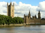 Parliament from river