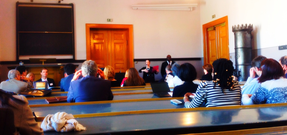 Workshop 8: the internet and the constitution, chaired by Adrienne Stone (Australia) and Djedjro Meledje (Ivory Coast)